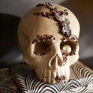 Pier 1 Jeweled Skull